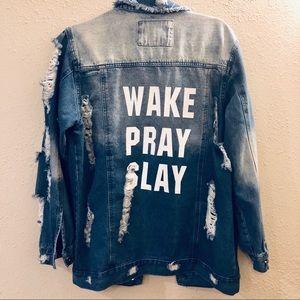 Jackets & Blazers - The style between us - inspirational frayed jacket